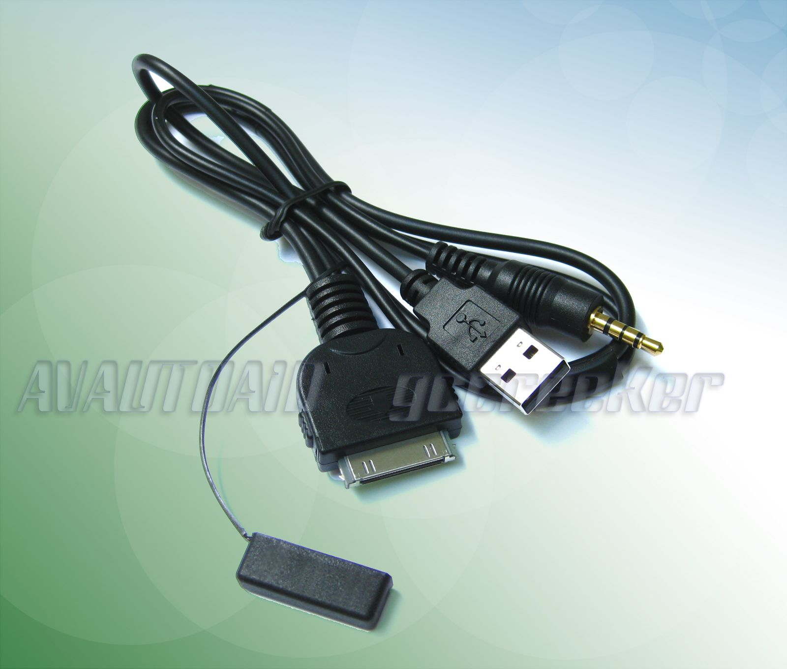 21 inch iPod iPhone AV Cable Adapter for Pioneer AVIC X930BT Headunit