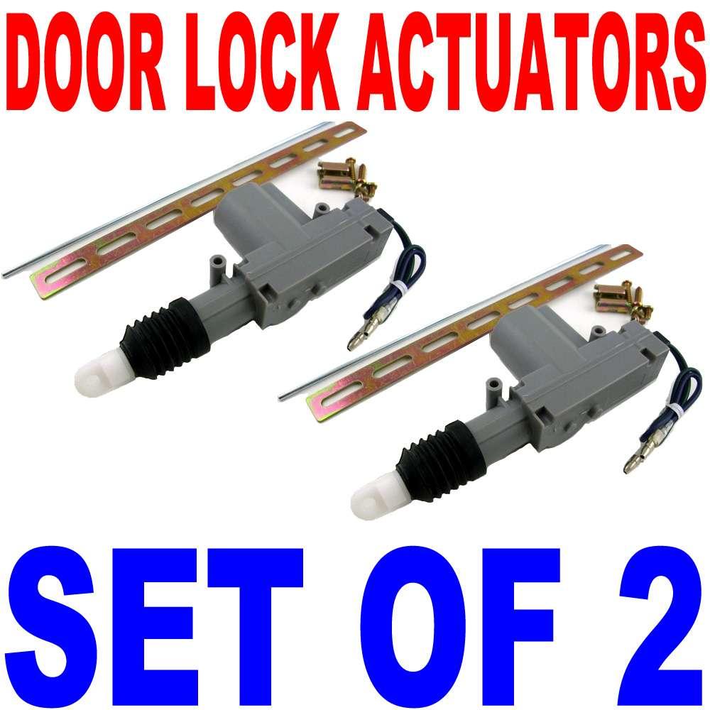 2x power door lock actuator honda civic prelude accord ebay for Power door lock motor
