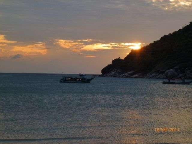 Sonnenaufgang am Thong Nai Pan Yoi Beach