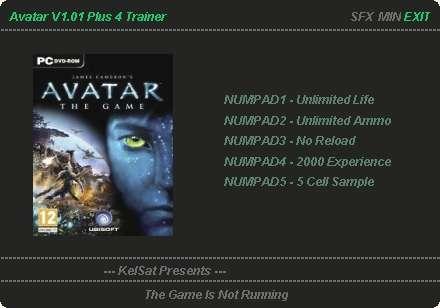+4 Трейнер для James Cameron's Avatar: The Game.