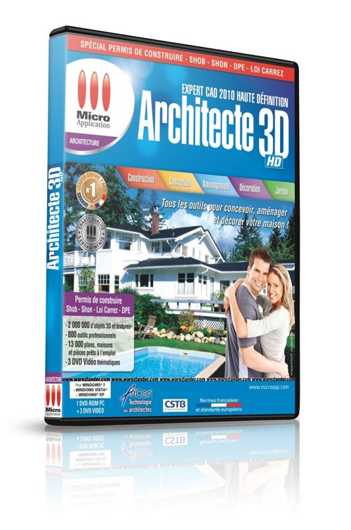 Architecte 3d hd expert cad 2010 warezlander for Architecte 3d video