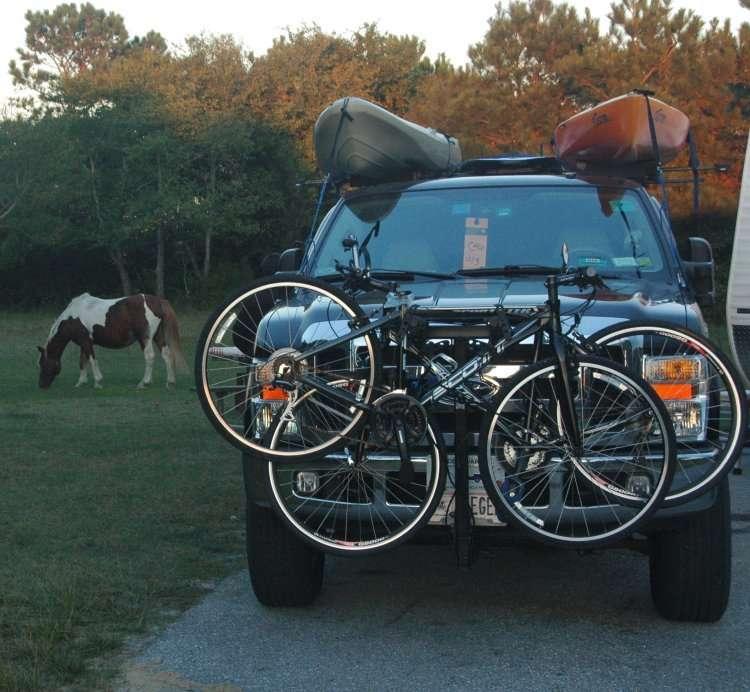 RV Net Open Roads Forum: Travel Trailers: Hatch mounted Bike